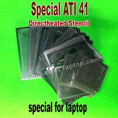 Stencil Directheat Ati 216 0719090 stencil ati plat