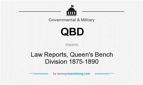 queen s bench division qbd law reports queen s bench division 1875 1890 in