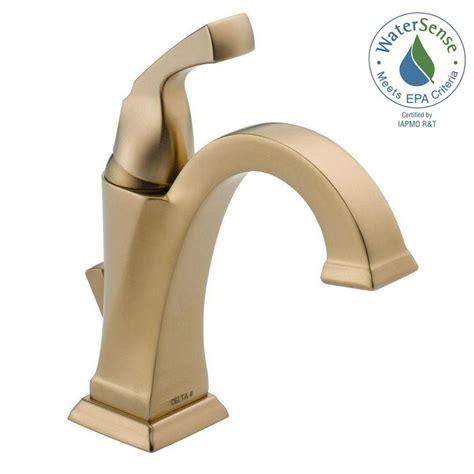 delta dryden bathroom faucet delta dryden single hole single handle bathroom faucet