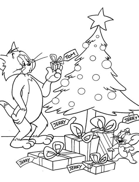 coloring pages tom and jerry coloring home