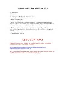 Employment Certification Letter Doc Letter Of Verification Of Employment Sample Proof Of