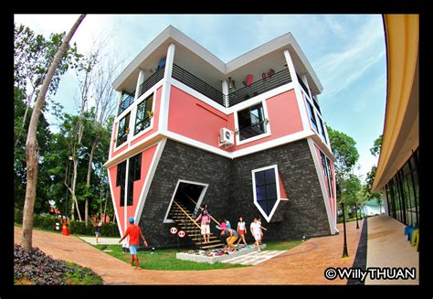 the upside down house phuket upside down house baan teelanka phuket 101
