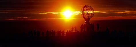 Midnight Sun nordkapp the midnight sun cyclingeurope org