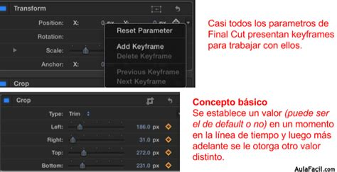 final cut pro error 27 curso gratis de final cut pro x keyframes o fotogramas