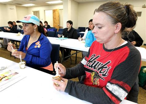 Lake Food Pantry by Free Class Teaches Lake Food Bank Clients Healthy