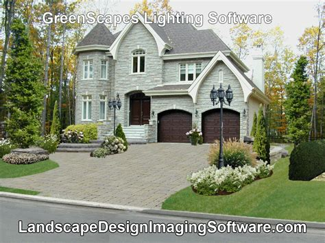 landscape lighting design software greenscapes includes a lighting design program