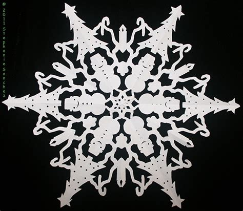 Snowflakes Out Of Paper - how to cut paper snowflakes