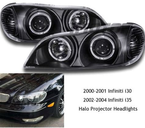 2000 infiniti i30 headlights infiniti i30 2000 2001 black projector headlights with