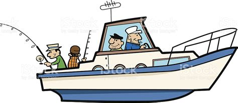 cartoon fishing boat clipart fishing boat clipart boat captain pencil and in color