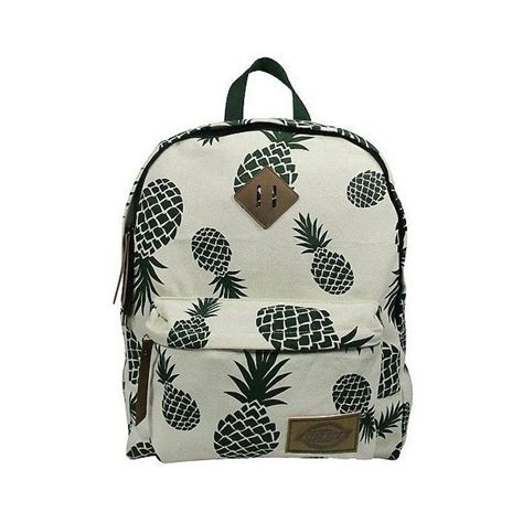 Printed Zip Backpack dickies printed classic canvas backpack with front zip
