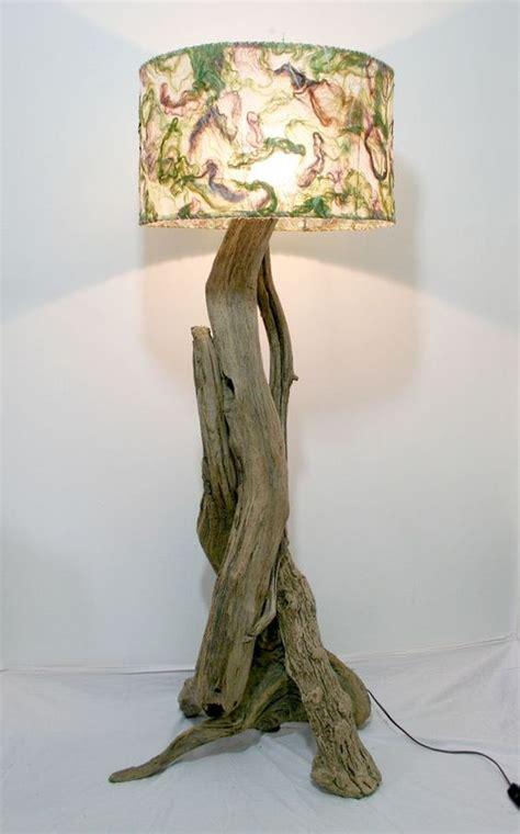 Amazing Driftwood Floor Lamps      Wow