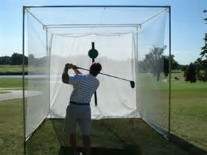 home indoor golf hitting cage pictures to pin on