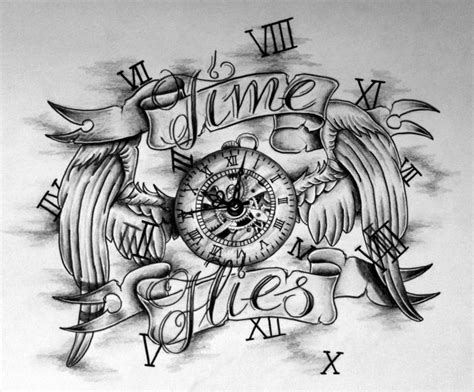 southside tattoo designs tattoos on time tattoos clock tattoos and clock