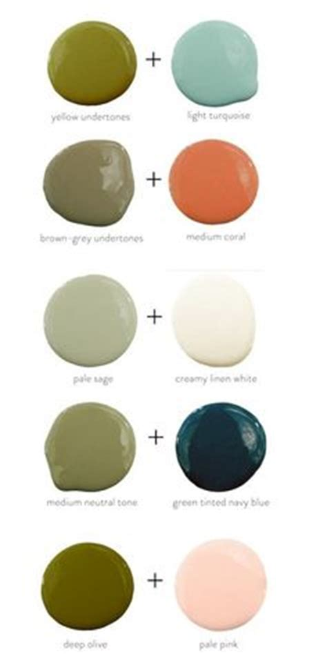 good color pairs 1000 ideas about olive green paints on pinterest green