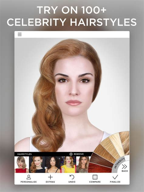 hairstyles makeover app virtual makeover on the app store