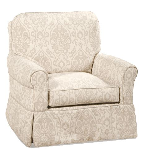 slipcovered glider chair avery slipcovered swivel glider chair rosenberryrooms com