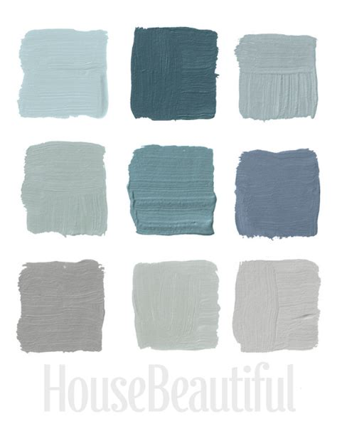 blue gray paint on blue gray bathrooms benjamin smoke and grey blue paints
