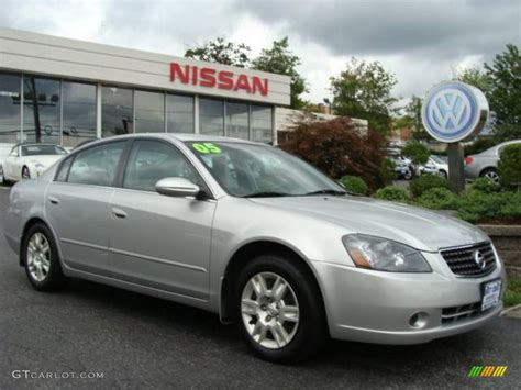 2005 sheer silver metallic nissan altima 2 5 s 3570831 gtcarlot car color galleries