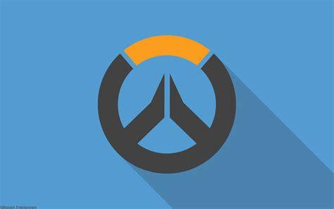 wallpaper logo design overwatch material design logo hd games 4k wallpapers