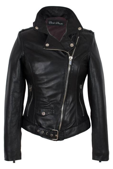 design jas dames dames leren jas zwart perfecto leathercity