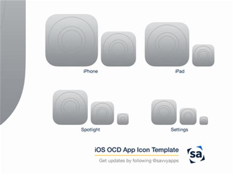 iphone app logo template 25 ios app icon templates to create your own app icon