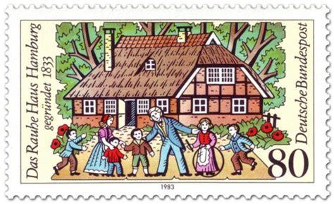 haus der briefmarke das rauhe haus hamburg briefmarke 1983