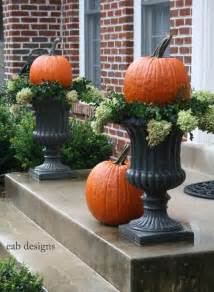 White Urn Planters by 22 Fall Front Porch Ideas Veranda Home Stories A To Z
