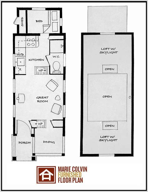 Large Tiny House Plans | mini tiny house on wheels