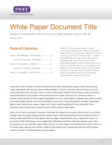 business white paper template white paper template lisamaurodesign