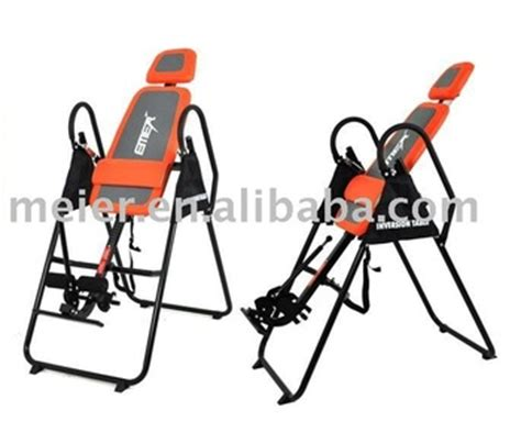 Inversion Table Gravity Therapy Table Back Swing Fitness