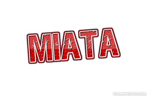 miata logo miata logo free name design tool from flaming text