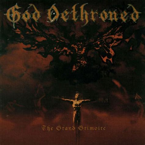dethroned books god dethroned quot the grand grimoire quot cd indiemerchstore