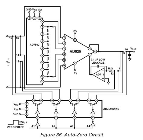 integrator circuit exle instrumentation lifier auto zero circuit on ad625 datasheet electrical engineering stack