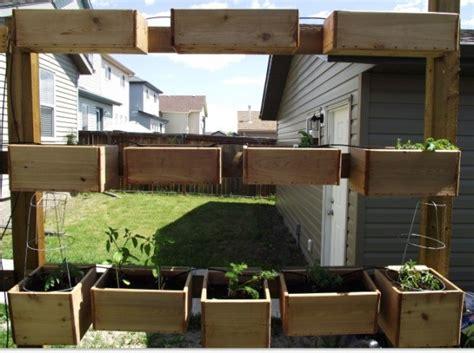 organic fence for vertical gardening thriftyfun