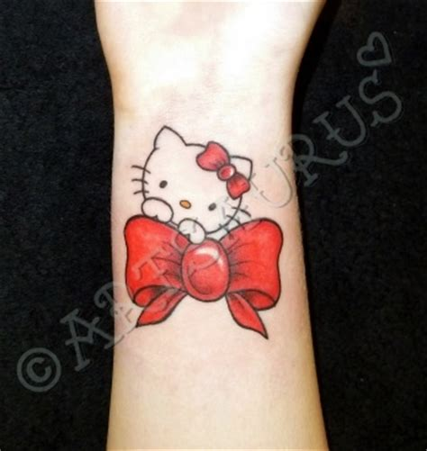 hello kitty bow tattoo 25 best ideas about hello tattoos on