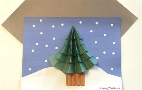 christmas tree craft for kids planning playtime