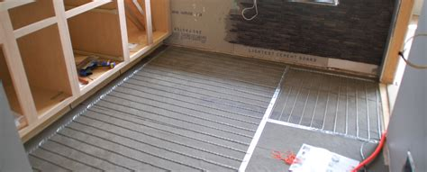 Heated Floor Installation by Tile 101 How To Install Suntouch Warmwire Radiant Floor