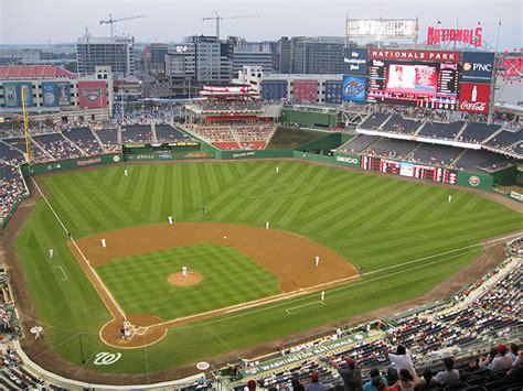 Baseball In Washington nationals park washington dc