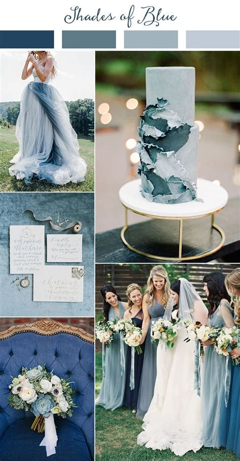 Wedding Trends Top 10 Wedding Colors Ideas for 2019