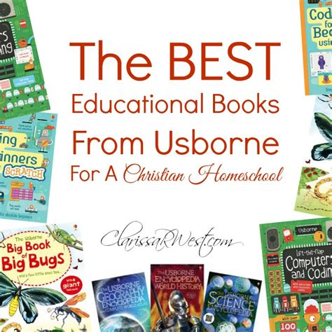 the best educational books from usborne for a christian