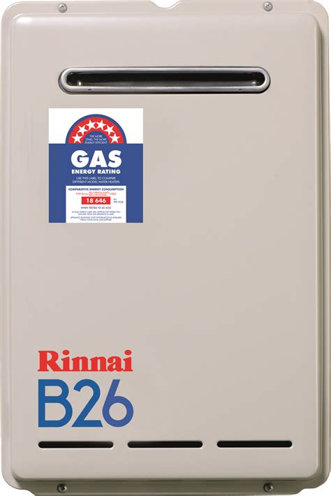 Water Heater Rinnai 30 Liter rinnai builder series 26 litre 50 degree lpg continuous