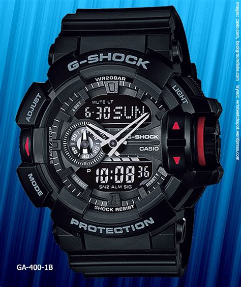 Casio G Shock Ga400 Black Vire ga 400 rotary switch g shock wrist spot