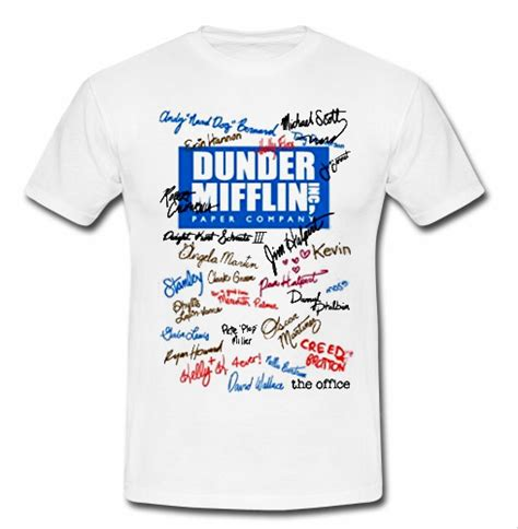 Dunder Mifflin dunder mifflin t shirt