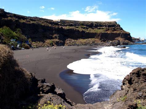 black sand beaches spanish trilogy santa cruz de tenerife the compulsive