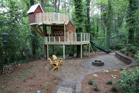Livable Tree House Plans Treehouse Living For Adults Design Of Your House Its Idea For Your
