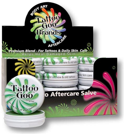 tattoo goo salve ingredients tattoo goo salve 75oz