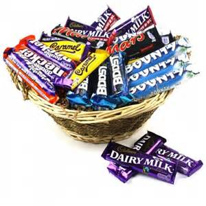 Chocolate Basket Occasions Chocolate Basket Gift Delivery Send Occasions Chocolates By Post