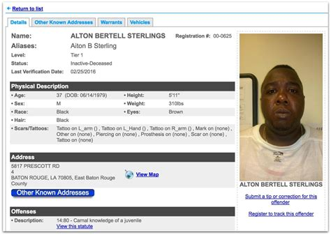 Alton Sterling Criminal Record Here S What The Media Isn T Telling You About The Alton