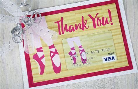 printable gift cards visa 62 best dance teacher gifts images on pinterest