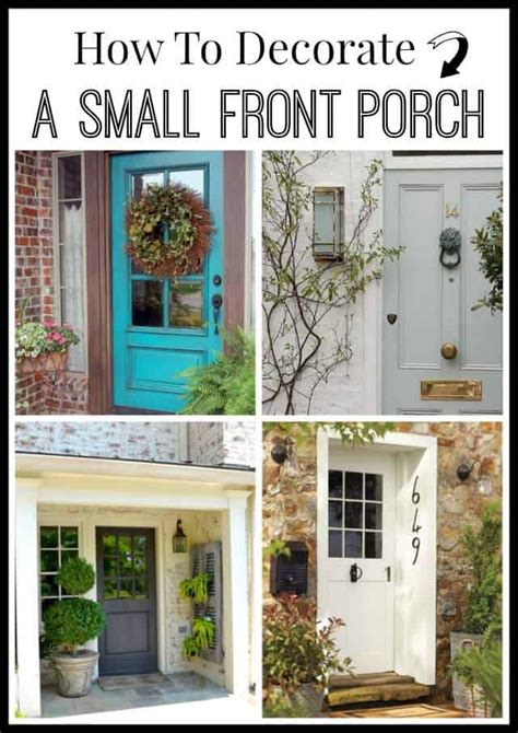 decorate  small front porch worthing court